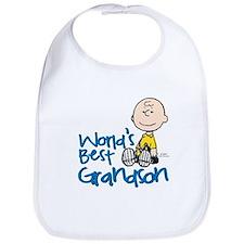 World's Best Grandson Bib