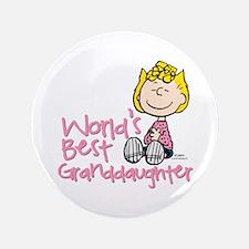 World's Best Granddaughter Button