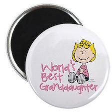 World's Best Granddaughter Magnet