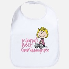 World's Best Granddaughter Bib