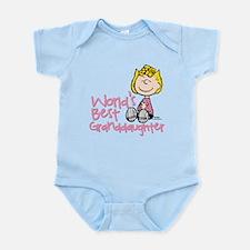 World's Best Granddaughter Infant Bodysuit