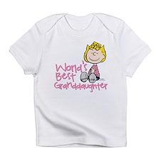 World's Best Granddaughter Infant T-Shirt
