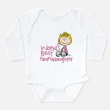 World's Best Granddaug Long Sleeve Infant Bodysuit