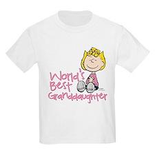 World's Best Granddaughter T-Shirt