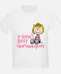 World's Best Granddaughter T-Shirt