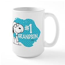 Number One Grandson Mug