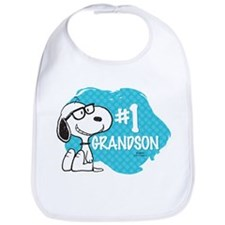 Number One Grandson Bib