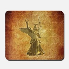 Statue from Berlin Victory Column Mousepad
