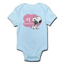 Number One Granddaughter Infant Bodysuit