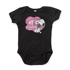 Number One Granddaughter Baby Bodysuit