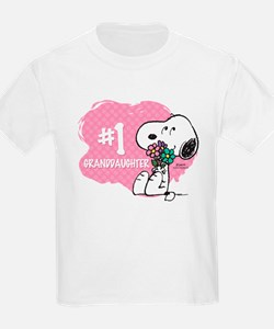 Number One Granddaughter T-Shirt