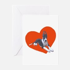 Mantle Great Dane Puppy Key to Heart Cards (10 Pk)