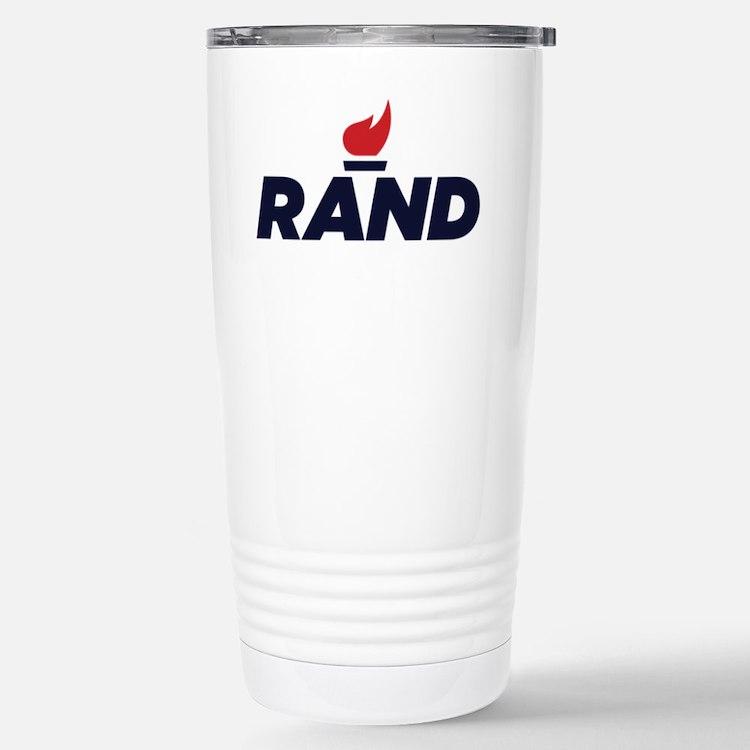 RAND PAUL logo Travel Mug