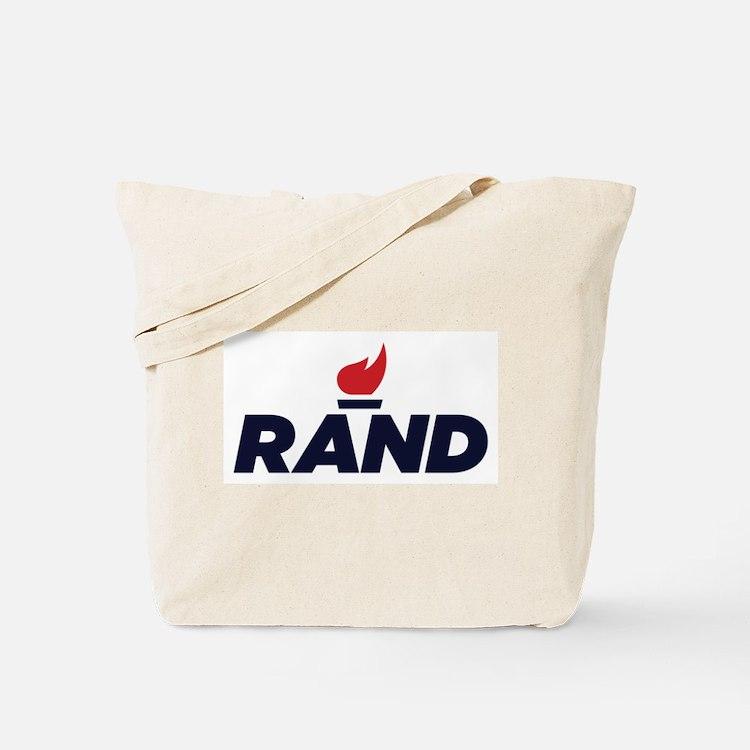 RAND PAUL logo Tote Bag