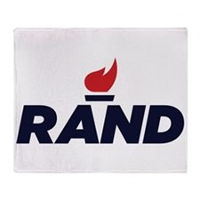RAND PAUL logo Throw Blanket