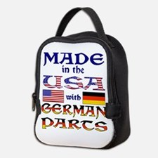 Made USA With German Parts Neoprene Lunch Bag