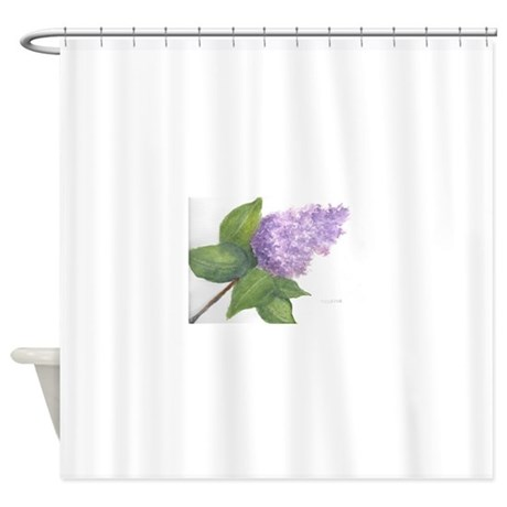 Lilac Shower Curtain By Admin CP121729155