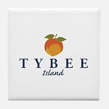 Tybee Island - Georgia. Tile Coaster