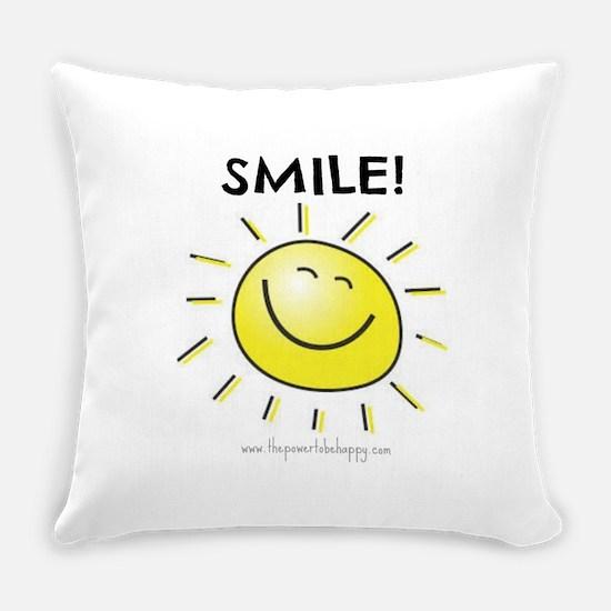 Smile Everyday Pillow