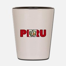 Peru Shot Glass