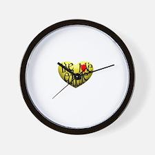 Live Love Educate Wall Clock