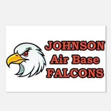 Johnson Air Base Falcons Postcards (Package of 8)