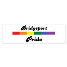 Bridgeport pride Bumper Bumper Sticker