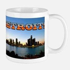 Detroit City Mugs