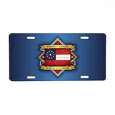 1st Texas Cavalry Aluminum License Plate