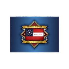 1st Texas Cavalry 5'x7'Area Rug