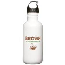 Brown Is The New Green Water Bottle