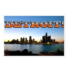 Detroit City Postcards (Package of 8)