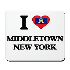 I love Middletown New York Mousepad