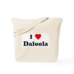 I Love Daloola Tote Bag