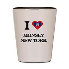 I love Monsey New York Shot Glass