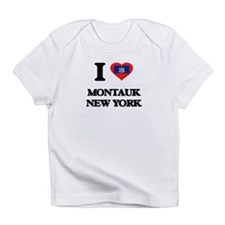 I love Montauk New York Infant T-Shirt