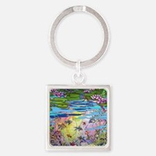 Water life Square Keychain