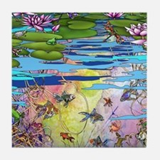Water life Tile Coaster