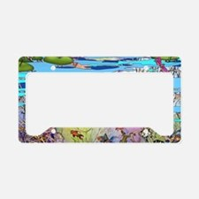 Water life License Plate Holder