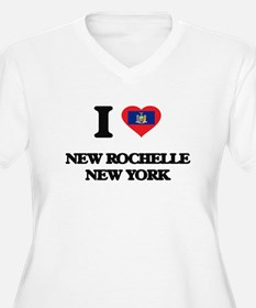 I love New Rochelle New York Plus Size T-Shirt