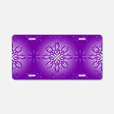Amethyst Dream by Xen™ Aluminum License Plate