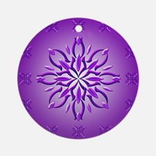 Amethyst Dream by Xen™ Ornament (Round)
