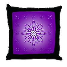 Amethyst Dream by Xen™ Throw Pillow