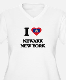 I love Newark New York Plus Size T-Shirt
