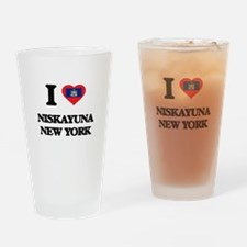 I love Niskayuna New York Drinking Glass