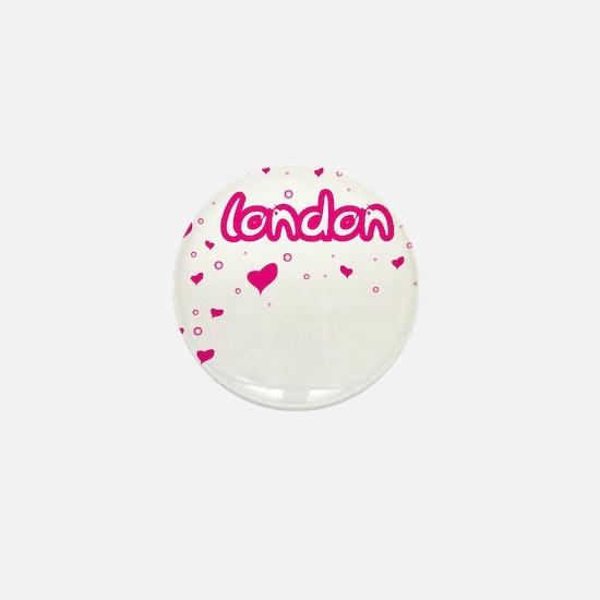 London Spread Mini Button