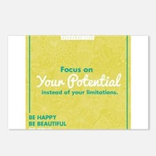Cute Encouragement Postcards (Package of 8)