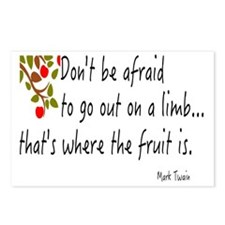 DON'T BE AFRAID TO GO OUT Postcards (Package of 8)