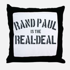 Rand Paul is the real-deal Throw Pillow