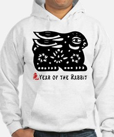 Chinese Zodiac Rabbit Jumper Hoody